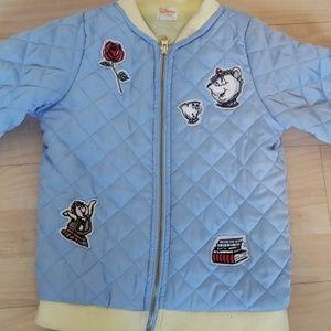 Alice In Wonderland Puffer Jacket 7/8